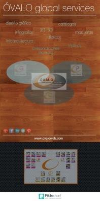 Diseño Gráfico ÓVALO global services